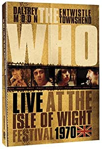 Live at the Isle of Wight Festival 1970 [Import anglais]