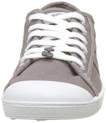Le Temps des Cerises Basic 02, Sneaker Donna Grigio (Charcoal Charcoal)