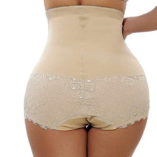 POLLYEDEN Frauen-hohe Taillen-reizvolle Nahtlose Bauch-Steuer-Schlüpfer, die Shapewear-Schriftsätze-Gürtel-Unterwäsche abnehmen -