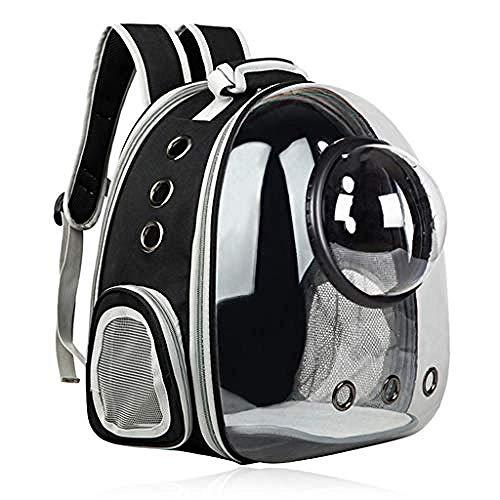 YYZZ Trasportino per Animali espandibile Zaino per Gatti Space Capsule Trasparente Trasportino per Animali Domestici per Borsa da Viaggio per Escursionismo di Cani di Piccola Taglia