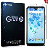 RIFFUE Wiko View2 Pro Panzerglas, Wiko View 2 Pro Schutzfolie, Qualitäts Kristallklares 9H Gehärtetes Glas 3D Touch Kompatibler Screen Protector Tempered Glass Folie Film 6,0