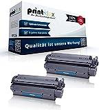 Print-Klex 2x Kompatible Tonerkartuschen für HP LaserJet 3330 MFP LaserJet 3380 MFP C7115 X 15X HP15X HP 15X HP15 Black Schwarz - Office Light Serie