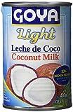 Goya Leche de Coco Light - 12 Paquetes de 400 ml - Total: 4.8 l