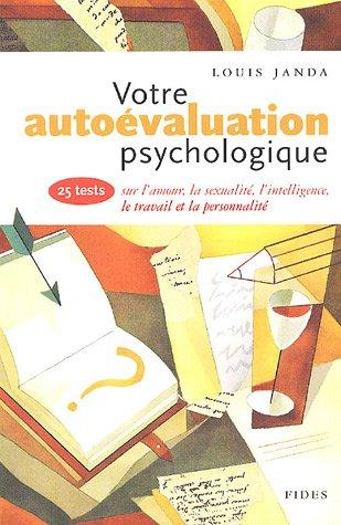 Votre autoévaluation psychologique