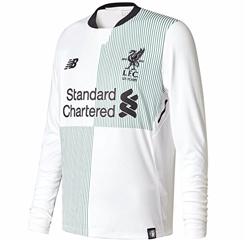 huge selection of 314e8 a1270 Liverpool FC 17/18 Away L/S Football Shirt - White - size M ...