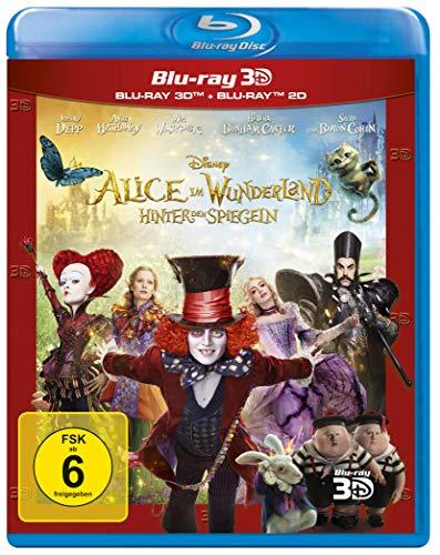 Alice im Wunderland - Hinter den Spiegeln (+ Blu-ray 2D)