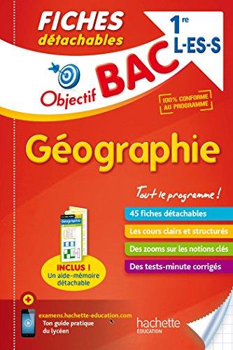 Objectif Bac Fiches détachables Géographie 1ères L/ES/S