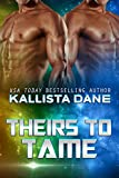 Theirs to Tame: A Sci-Fi Alien Dark Romance: Tharan Warrior Menage Book 2