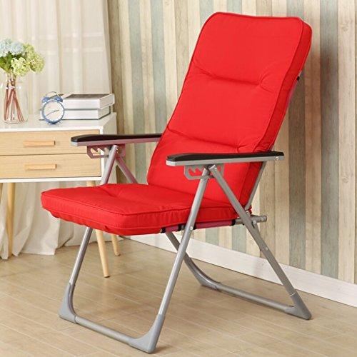 RGLRSF ZHDC Sitzsack, Klappbarer Computer Stuhl Büro Chaiselongue Schlafsaal Sitzsack Computerstuhl...