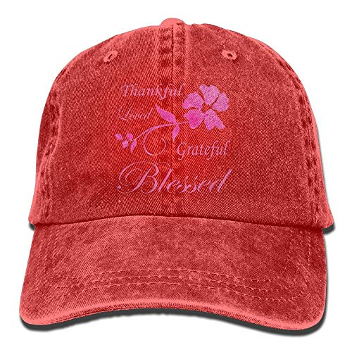 93128d5f6077d Cherished Girl Thankful Grateful Blessed Rock Climbing Cap Trinity Cap
