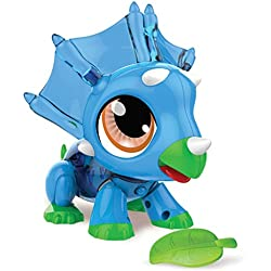 Gear2play Robot Dinosaurio Build a Bot Plástico Azul Armable Educativo TR50130