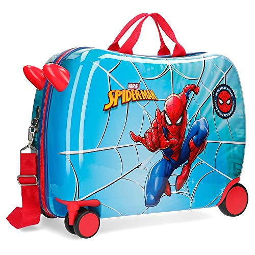 Marvel Spiderman Street Valigia per bambini 50 centimeters 39 Multicolore (Multicolor)
