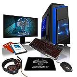 AWD-IT Ensemble Gaming PC - Processeur AMD A10 9700 à 4 cœurs • Écran LED 22'•...