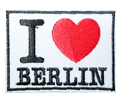 """Patch Aufnäher Aufnäher /"""" I Love BERLIN /"""""""