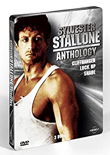 Cliffhanger / Lock Up / Shade - Sylvester Stallone Uncut Steelbook Anthology - 3x DVD