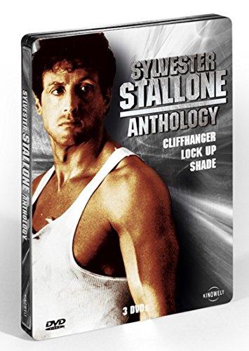 Cliffhanger / Lock Up / Shade - Sylvester Stallone Uncut Steelbook Anthology - 3x DVD