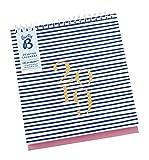 Busy B Schreibtischkalender 2019 – mit Aufbewahrungsfächern, integriertem Ständer und Monatsansicht