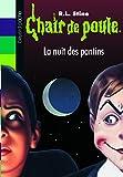La Nuit des pantins / R.L. Stine   Stine, Robert Lawrence (1943-....). Auteur