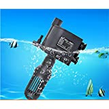 CGT Sunsun HQJ Series Multifunction Submersible Pump for Aquarium,Power Head Filtration Pump for Circulation of Water Suitable for Both Fresh and Sea Water (HQJ-700G)