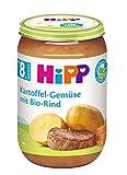 HiPP Kartoffel-Gemüse mit Bio-Rind, 6er Pack (6 x 220 g)