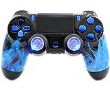 Blue Fire PS4Pro Rapid Fire Custom Modding Controller 40Mods für Erste-Shooter Spiele fortnite & Mehr