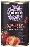 Biona Organic Chopped Tomatoes 400g (Pack of 12)
