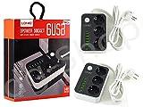 se3631LDNIO distributore 3presa ciabatta elettrica presa di corrente + 6Usb Port 3.4A 3400mA carica batterie con interruttore