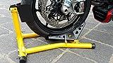 Motorrad Montageständer Motorradwippe vorne Motorradständer Wippe Transportständer Vorderrad