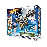Mondo-63638 SKYTRACKZ VR FPV Racing Set Drone radiocomandato, Colore Livrea Hot Wheels, 63638