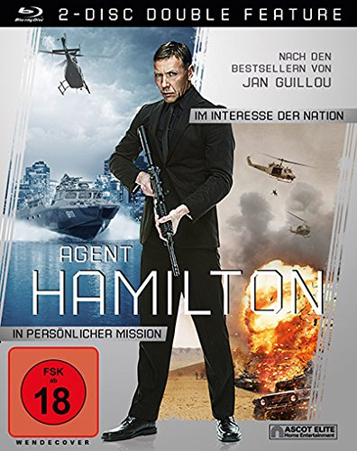 Agent Hamilton Box - Im Interesse der Nation+In persönlicher Mission [2-Disc Blu-ray]