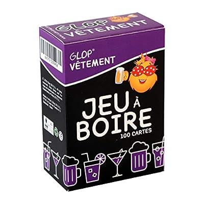 Glop Vêtement - Jeu à Boire - Jeu d'alcool soirée - 100 Cartes