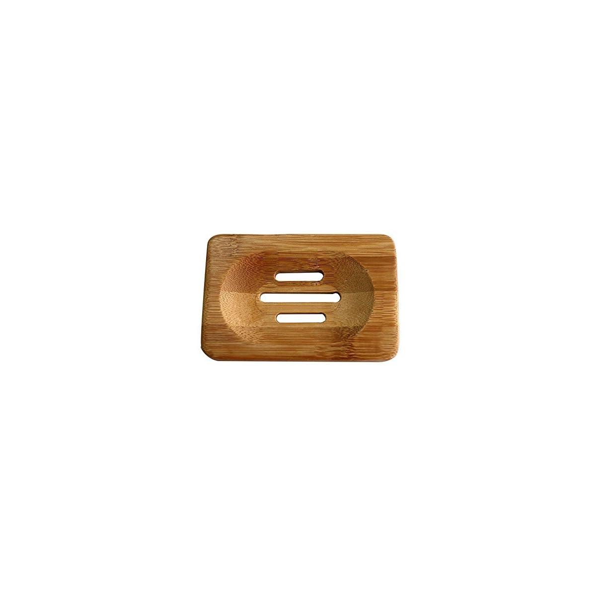 514SFBMhX0L. SS1200  - Laat jabonera de madera bambú jabón Soap caja 1pc