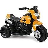Talson Kindermotorrad in Schwarz-Gelb