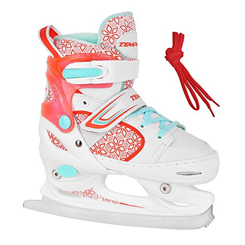 Unbekannt Schlittschuhe für Kinder RS Verso Ice Girl Red - Größen 26-29, 30-33, 34-37 verstellbar (34-37 verstellbar)