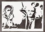 moreno-mata Legolas Herr der Ringe (The Lord of The Rings) Handmade Street Art - Artwork - Poster