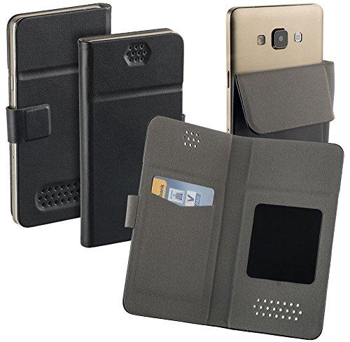 yayago Universal Haft Book Style Tasche für Doro Liberto 820 mini Tasche mit Magnetverschluss Schwarz