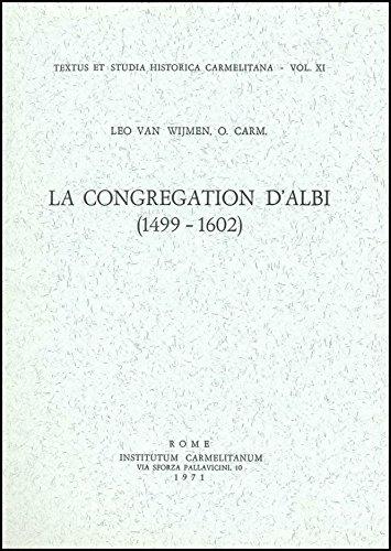 La Congrégation d'Albi (1499-1602)