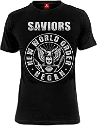 The Walking Dead Saviors New World Order T-shirt noir