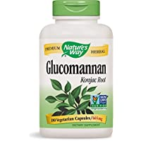 Nature's Way, Glucomannan, Root, 180 Vcaps