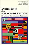 Anthologie des sciences de l'Homme, tome 2 par Filloux