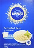 Davert Parboiled Reis im Kochbeutel, 6er Pack (6 x 250 g) - Bio