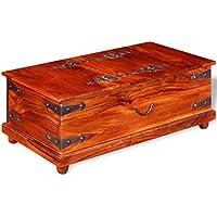 Luckyfu Sitzbank aus Massivholz von Shisham 90 x 50 x 35 cm Material: Massivholz Shisham (Dalbergia Sissoo) mit... preisvergleich bei billige-tabletten.eu