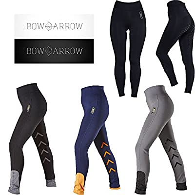 Bow & Arrow Tabah Equine Running Yoga Ladies Horse Riding Breeches Leggings Tights