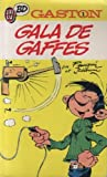 Gaston n°  1 : Gala de Gaffes