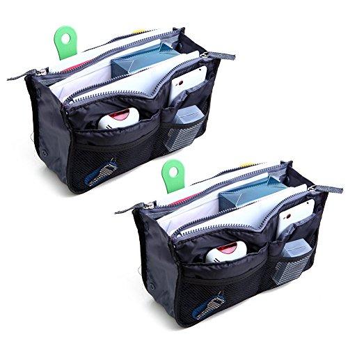 2-pack-magik-travel-insert-handbag-purse-large-liner-organizer-tidy-bags-black