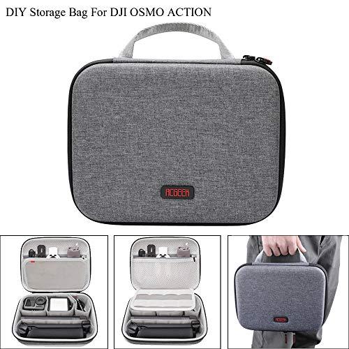 Action-Kamera Tragetasche, Chshe TM, Tragbare Outdoor-Handheld-Tasche Aufbewahrungstasche Handtasche FüR Dji Osmo Action-Kamera 60 Fuji Digital-kameras
