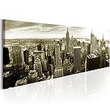 murando - Bilder New York 150x50 cm - Leinwandbild - 1 Teilig - Kunstdruck - modern - Wandbilder XXL - Wanddekoration - Design - Wand Bild - New York NY City Stadt d-B-0189-b-d