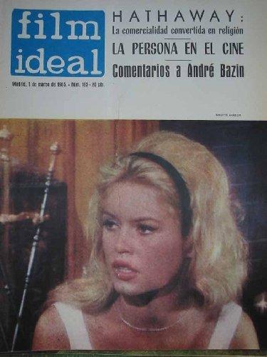 FILM IDEAL.REVISTA DE CINE. Febrero 1965 nº163