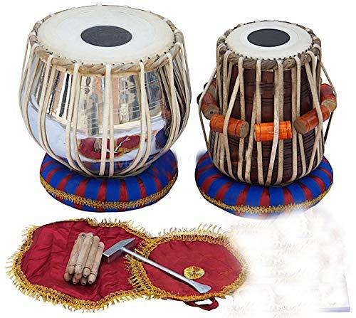 Musical Classic Tabla Set 3 kg Messing Bayan Sheesham Dayan