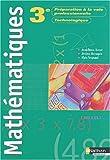 Mathématiques, 3ème préparation à la voie professionnelle technologique